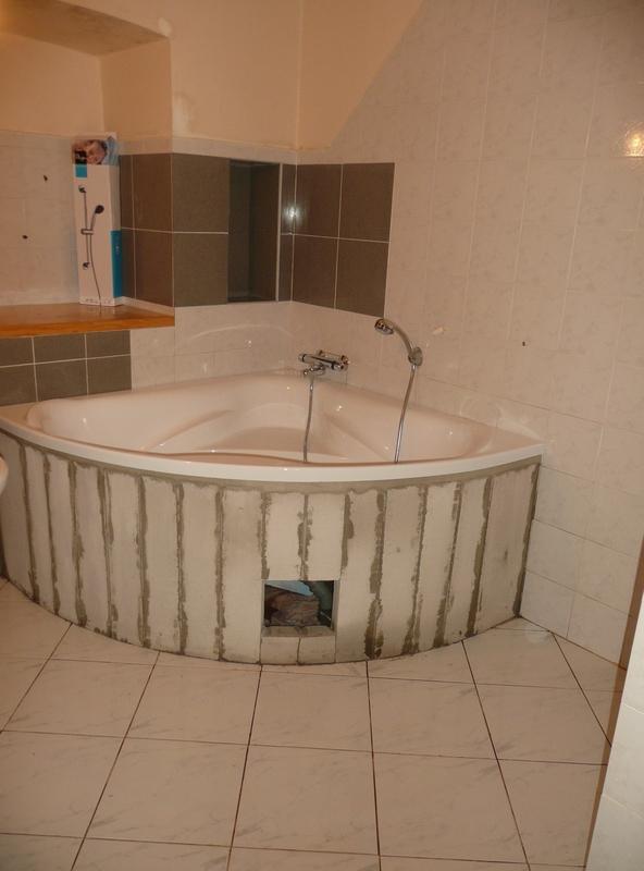 Badkamer Inspiratie Welke ~ Hier het nieuw geplaatste hoekbad en de nieuwe wastafel