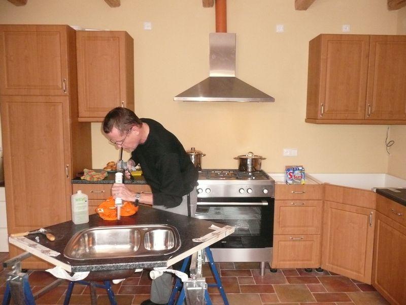 Keuken Wasbak Afvoer : worden en de wasbak week iets af in de maat dus moest worden aangepast